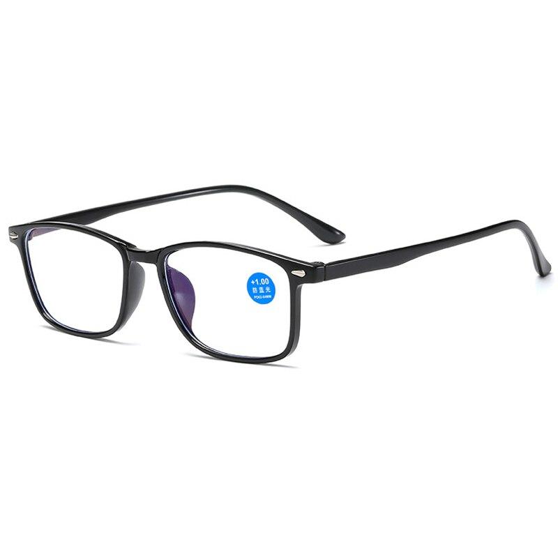 Антибликовыми свойствами светильник для чтения очки прозрачные линзы модные очки для женщин и мужчин солнцезащитные очки диоптрий + 1,0 + 1,5 + 2,0 + 2,5 + 3,0 + 3,5