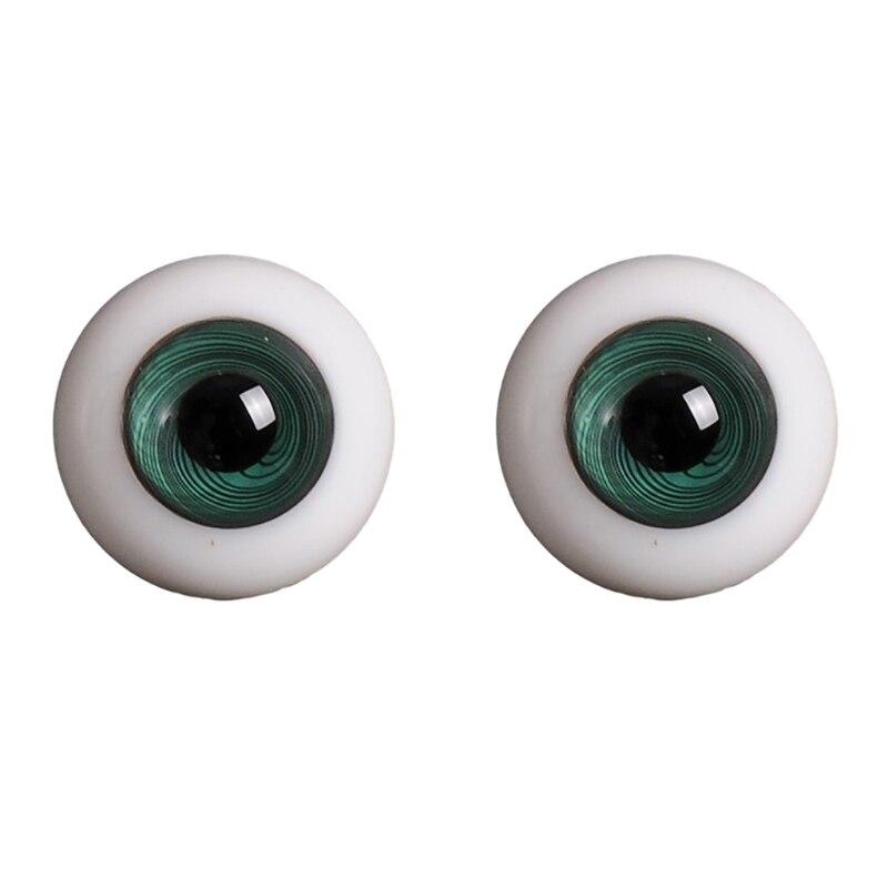14mm 1/3 1/4 Doll Glass Eyes Doll Accessories Glasss Doll Eyeball 21