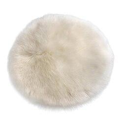 Super doux fausse fourrure en peau de mouton canapé tabouret chaise couverture tapis tapis/Shaggy tapis