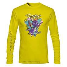 Spyro - Dragon Logo Retro Oficial - Camiseta Para Hombre Druck Bekleidung? T Shirt