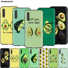 Webbedepp Avocado Case สำหรับ Samsung Galaxy S7 S8 S9 S10 PLUS EDGE หมายเหตุ 10 8 9 A10 A20 A30 a40 A50 A60 A70(China)
