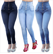 H0476f4bfde5f4af6a564ebe0a997ae21p jeans for women with high waist pants for women plus up large size skinny jeans woman denim modis streetwear spodnie damskie#C