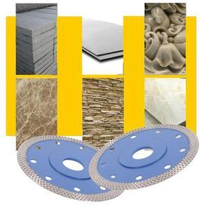 Image 3 - Turbo diamentowe ostrze piły płyta płytka porcelanowa ceramiczny granit marmur ostrza tnące do szlifierki kątowej diamentowe ostrze piły 115mm