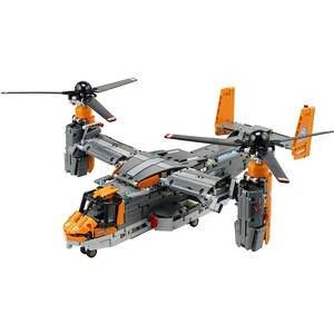 Bricks Aircraft Building-Blocks Fighter Christmas-Toys Gifts V-22 osprey 1636pcs Bell-Boeing