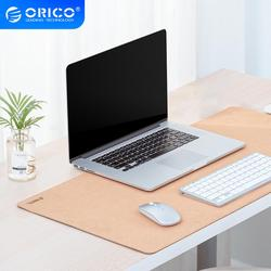 ORICO Large Mouse Pad Double-side Natural Cork Desk Pad Gaming Mousepad Anti-slip Waterproof Desk Mat Keyboard Pad for PC Laptop