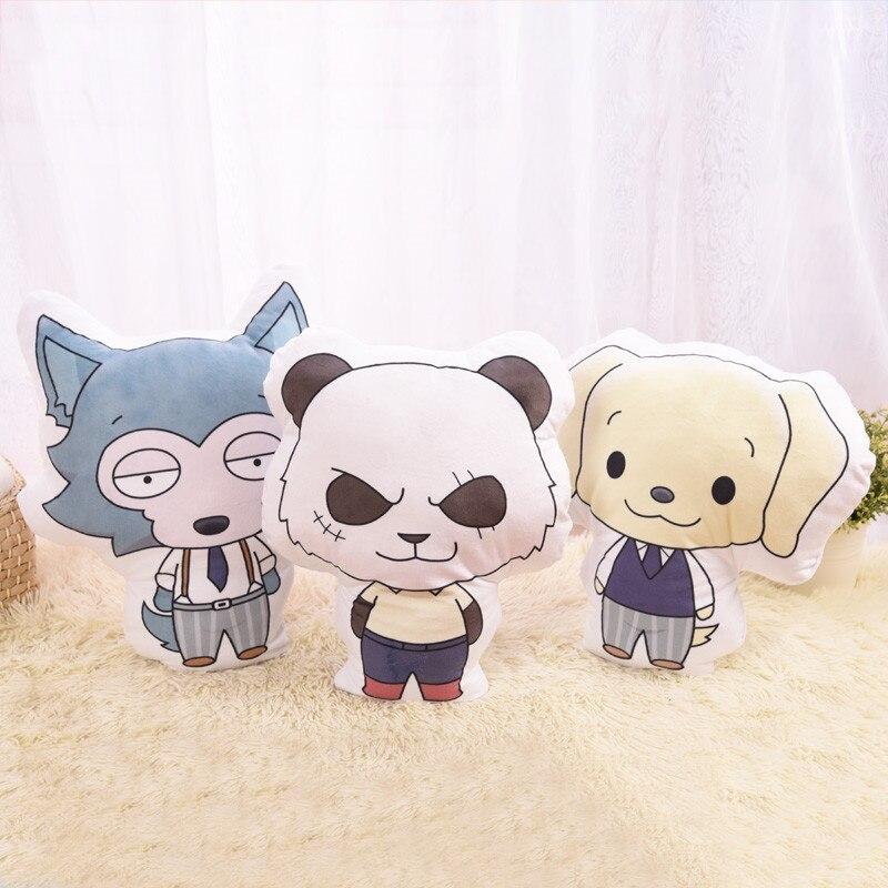 "12/"" BEASTARS Legosi Haru Louis Plush Animal Doll Toy Cushion Pillow Cosplay"