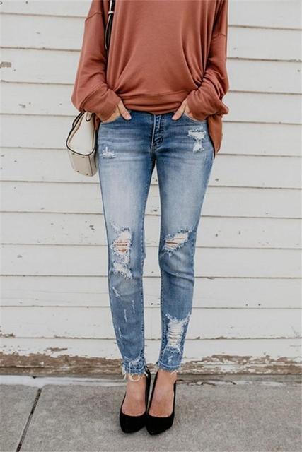Pants Cool Denim Vintage skinny push up jeans