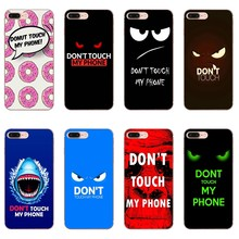 Don't touch my phone Case For Samsung Galaxy Note 10 plus S10E M30 Huawei Honor 20 10i lite 9x pro 8s Y5 2018 2019(China)
