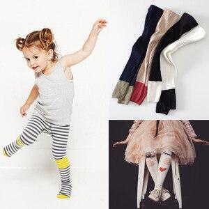Newborn Baby Girls Tights Raspberry Plum Toddler Infant Kids Girl Clothing Face Cotton Warm Children Stocking Pantyhose Autumn