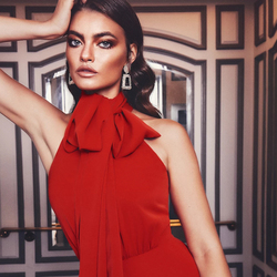 ADYCE 2020 New Summer Red Celebrity Evening Runway Party Jumpsuit Romper Sexy Halter Sleeveless Solid Fashion Club Long Jumpsuit