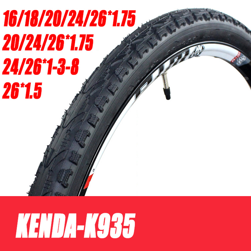 Bicycle Tire 16 18 20 <font><b>24</b></font> 26 26*1.95 20*1.75 1.5 1-3-8Cycling <font><b>BMX</b></font> MTB Mountain Bike Tires 26 Pneu Ultralight K935 image