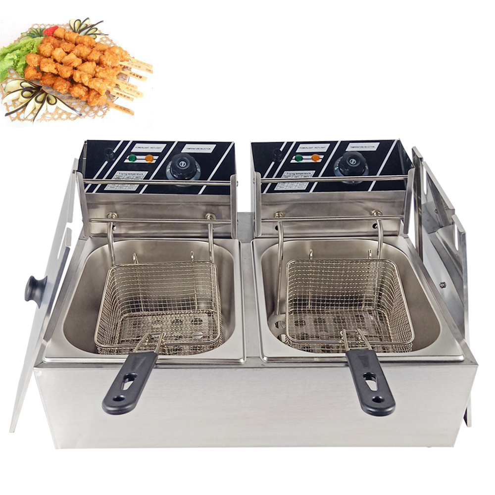 New Brand Deep Fryer Induction Electric Stainless Steel 20L Henny Penny Pressure Fryer Multi-functional Kitchen Chicken Fryer