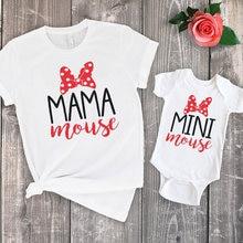 Женская летняя футболка с надписью «Мама и я»