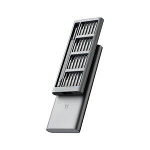 Image 3 - 2020 جديد الأصلي شاومي Mijia الاستخدام اليومي برغي عدة 24 الدقة المغناطيسي بت الألومنيوم صندوق برغي سائق شاومي المنزل الذكي عدة