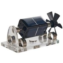 Модель солнечной магнитной левитации левитационный двигатель мендочино образовательная модель St41 4 Солнечная литиевая батарея 2 комплекта окрашенной проволоки