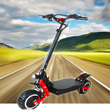 100KM/H 4000W Dual Motor Drive 11 inch off road tire Electric Scooter Off Road for adults