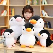 Kawaii quente boneca crianças brinquedos de pelúcia huggable macio bonito pinguim brinquedos de pelúcia crianças brinquedo decorações presente de aniversário para crianças