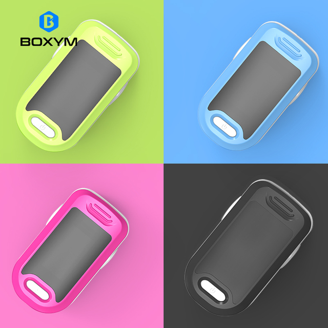 BOXYM Medical Fingertip Pulse Oximeter blood oxygen Heart Rate Monitor Digital LED Oximetro Health Monitors Oximetro De Pulso