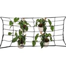 80*80cm Elastic Rubber Garden Trellis Net Growing Tent Support Netting for Flower Vegetable Climbing Vine Plants