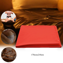 Waterproof Adult Bed Sheets Sex Massage SPA Mattress Cover Allergy Relief Bug Hypoallergenic Red Mat 210X170cm
