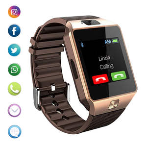 Smart-Watch Camera Call-Bracelet Dz09-Phone Bluetooth Android with Sim Tf-Card