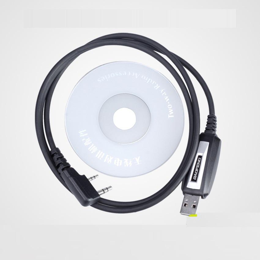USB Programming Line Original BAOFENG Cable For UV-5R UV-82 Uvb2 Plus BF-888S Kenwood PUXING Radio WLN KD-C1 Walkie Talkie