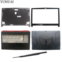 New for MSI GE63 GE63VR LCD top cover case/LCD Bezel Cover/Palmrest COVER/Bottom case/hinges cover(China)