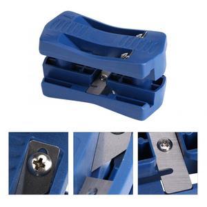 Image 4 - 1 Juego de recortadora de doble filo de PVC, aplicadora de bandas de borde de madera, cola Manual, carpintería recorte herramienta de carpintero, herramientas de Hardware