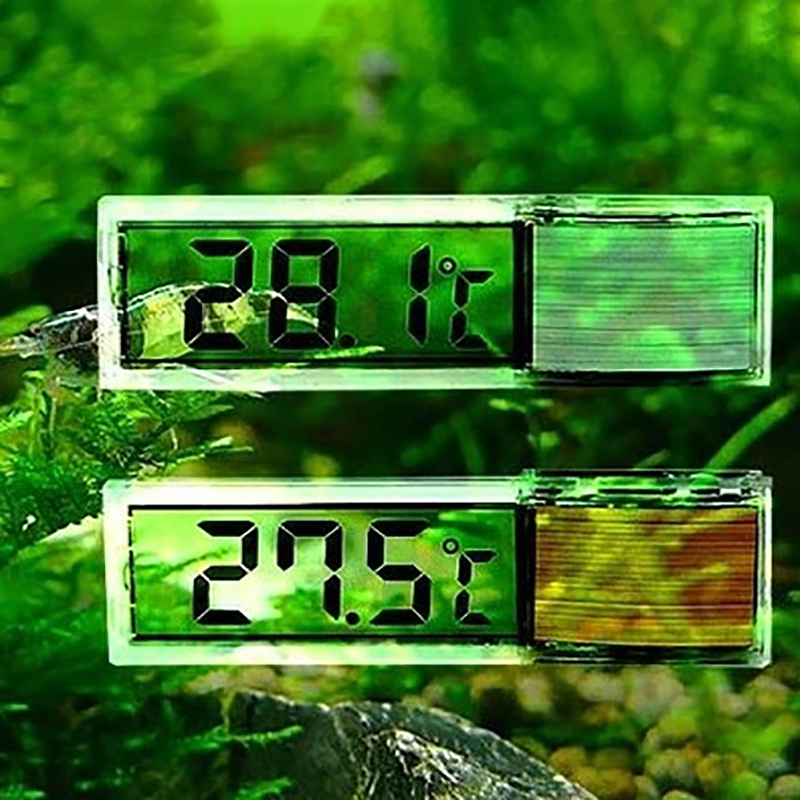 Waterproof Aquarium Thermometer Digital Electronic LCD Fish Tank Temperature Fish Turtle Aquarium Decoration
