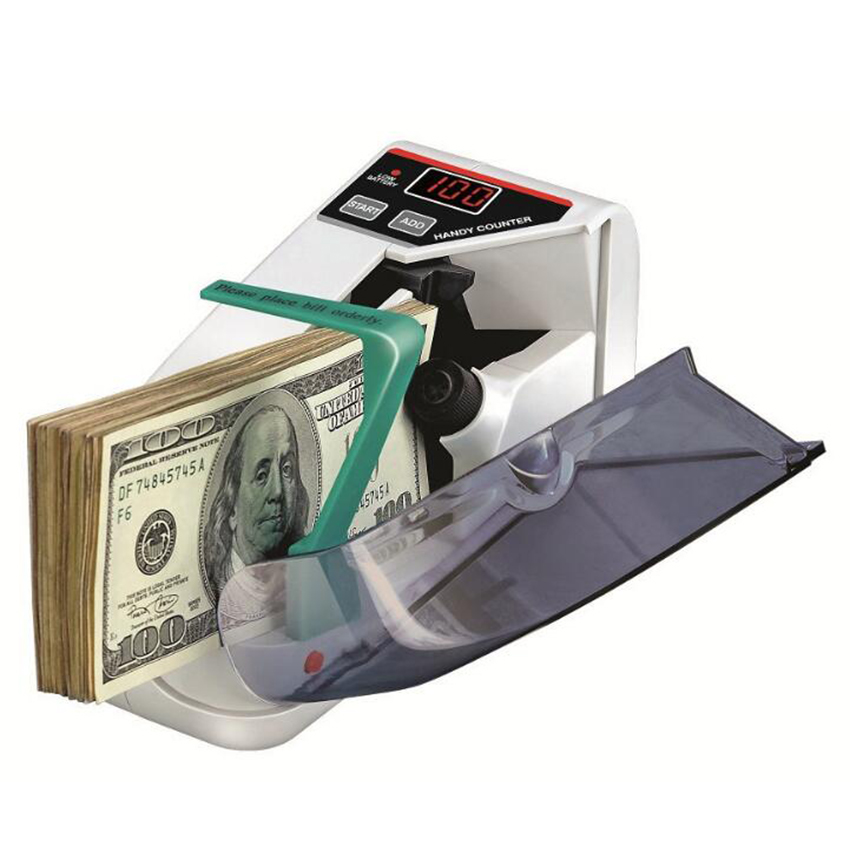 Currency-Counting-Machine Counter-Money Cash Money-Counter/detector Bill Handy Banknote