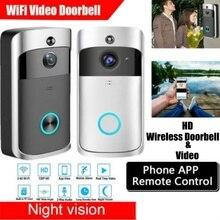 EKEN 2021 Smart Phone Call Visual Recording Video Doorbell Night Vision Wireless WiFi Security Home Monitor Intercom