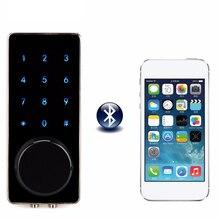 Bureau intelligent Bluetooth écran tactile serrure de porte numérique mot de passe clavier serrure de porte avec Smartphone App pour hôtel appartement F1401A