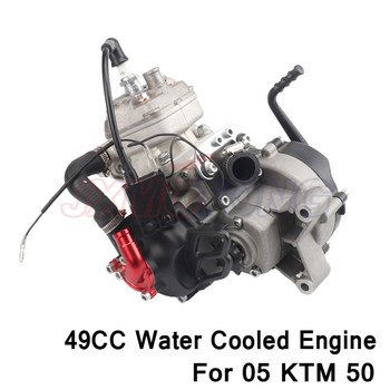49CC motor refrigerado por agua para 05 KTM 50 SX 50 SX PRO superior suciedad Pit Cruz bicicleta