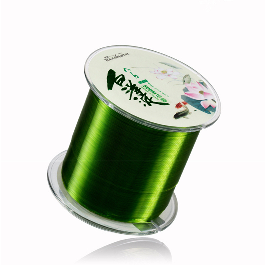 Fishing Line 500M Monofilament Nylon Saltwater/Freshwater Japan Material Super Durable Best Quality  Fish Line Hot|Fishing Lines| |  - title=