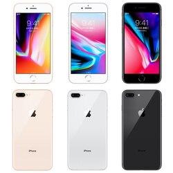 Сотовый телефон Apple iPhone 8 Plus, б/у, 8 P, 3 ГБ, 64 ГБ, Беспроводная зарядка, шестиядерный процессор NFC, iPhone 8plus