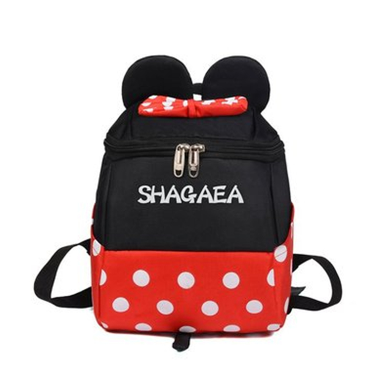 Disney Mickey Mouse Minnie Kids Primary School Student Boys And Girls Backpack Bag For School Bag Handbag  Travel Backpack