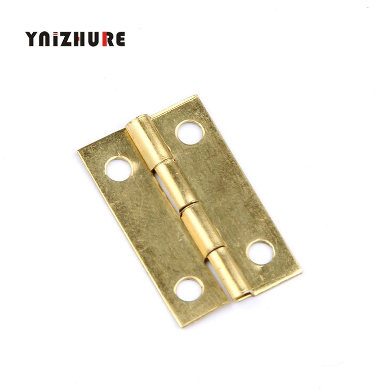 20pcs 24*15mm Ln Stock Furniture Connectors 4 Hole Small Wooden Gift Box Hinge Small Wooden Hinge