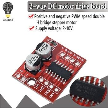 WAVGAT DC Motor Drive Module Reversing PWM Speed Dual H Bridge Stepper Motor Mini Victory L298N