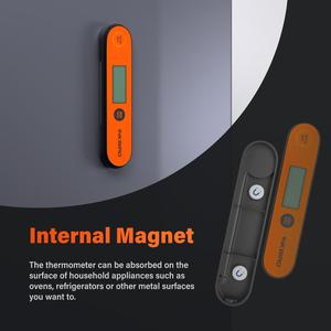 Image 3 - Inkbird Digital Instant Read Meat Thermometer, IHT 1P Waterproof Rechargeable Thermometer with Backlight & Calibration