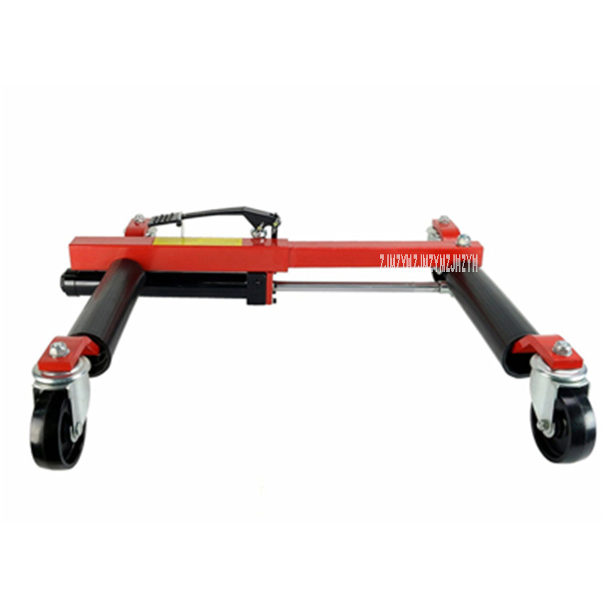 PX-2096 Car Moving Tool Quality Steel Hydraulic Manual Trailer With Universal Wheel Property Parking Car Mover Removal Device