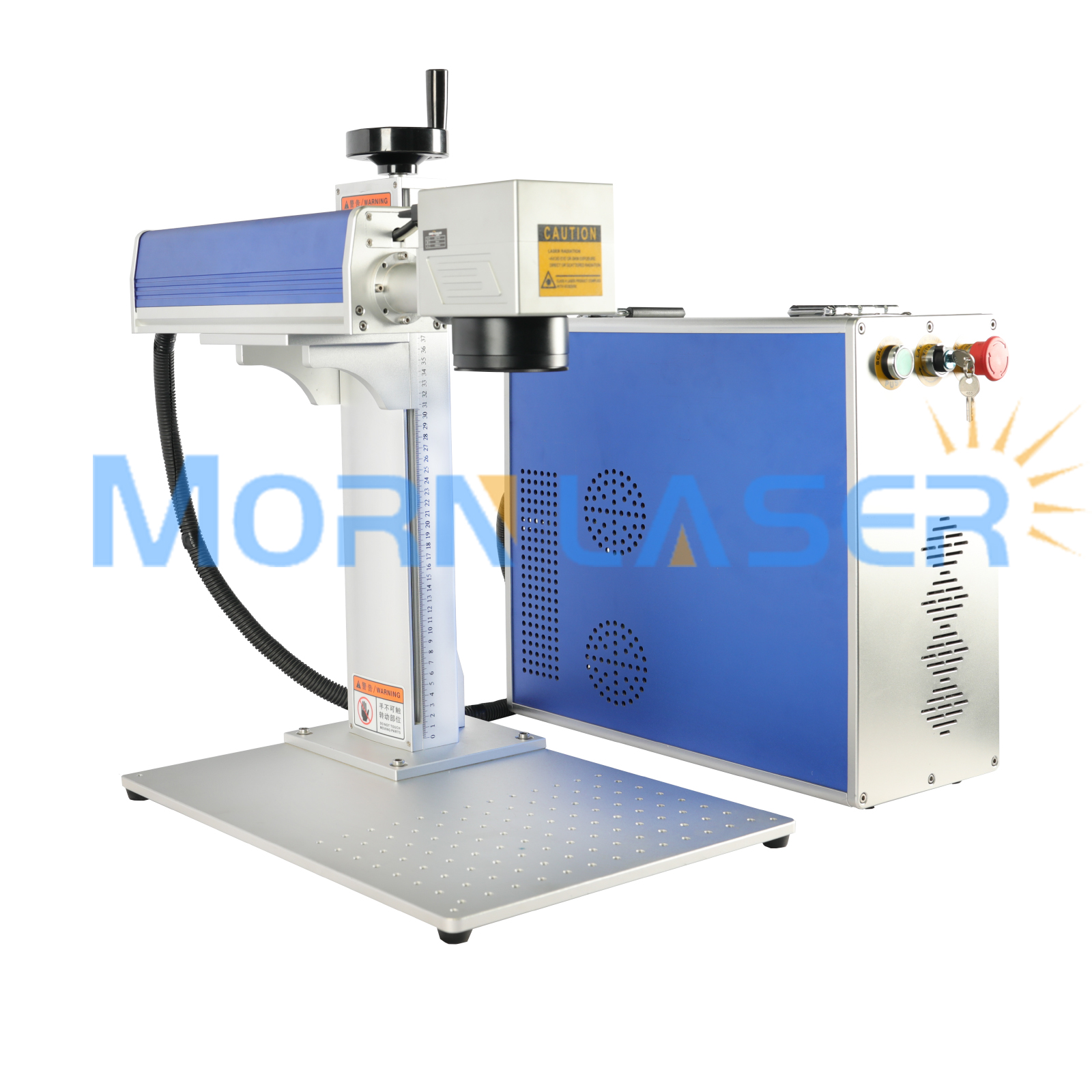 Laser Marker 30 W Raycus Fiber Laser Marking Machine For Label, Nameplate, Logo
