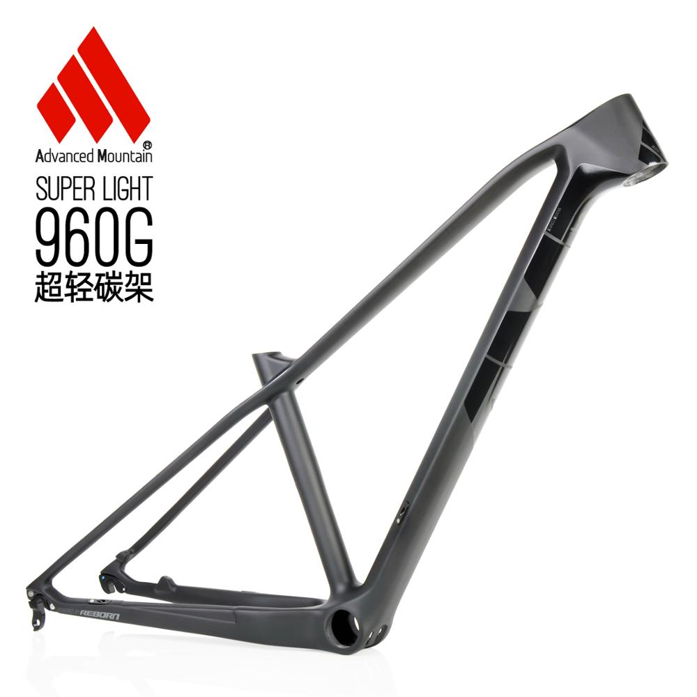 AM XR960 Carbon Mountain Bike Frame 27.5er Carbon MTB Bicycle Frame T1000 Carbon Fibre Frame Bike Frame 15.5/17.5/19inch