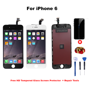 LCD Display For iPhone 5 6 7 8  Plus Touch Screen Replacement For iphone 6 display No Dead Pixel  LCD  Grade AAA+++ factory quality ips lcd display 7 85 for supra m847g internal lcd screen monitor panel 1024x768 replacement