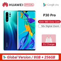 Global Version Huawei P30 Pro 8GB 256GB Kirin 980 Octa Core Smartphone 5x Optical Zoom Quad Camera 6.47'' Full Screen OLED NFC