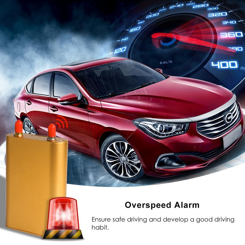 GPS Per Auto Tracker Vehicle Tracker 3G 4G GPS Tracker Per Auto Localizzatore Chilometraggio Rapporto in tempo Reale Più di velocità di Trasporto Web APP Localizzatore GPS - 5