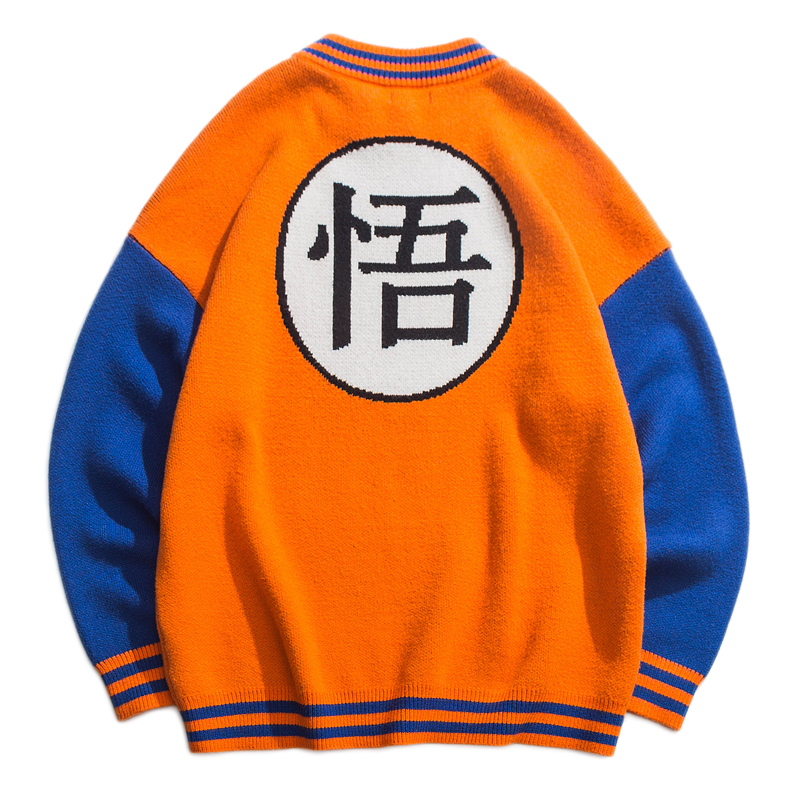 Chinese Style Men's Autumn Winter Printing Couple Knit Sweater Bottoming Sweaters Male Cartoon Fashion Pullovers