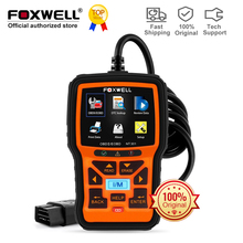 Code-Reader Car-Diagnostic-Tool Foxwell Nt301 Obd2-Scanner ETC ODB Auto Clear