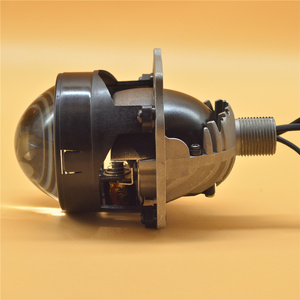 2,5 ''Bi-светодиодный объектив ангельские глазки фары линзы H4 H7 H1 9005 9006 светодиодный проектор для автомобильные лампы аксессуары для модерниза...