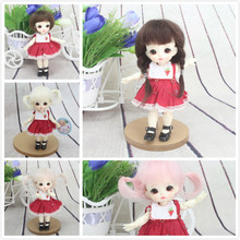 BJD Doll Wigs Brown Pink Khaki Mohair Hair for 1/8 Dolls Wig Accessories Free Shipping jd252 1 8 lati yellow mohair doll wig size 5 6 inch two bowl braid long bjd wigs