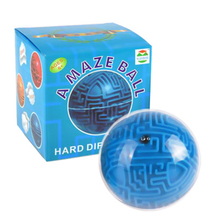 Maze Ball Mini 3D Magic Intellect Kids Children Logic Ability Puzzle Game Educational Training Tools for